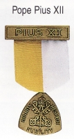 Pope Pius XII medal